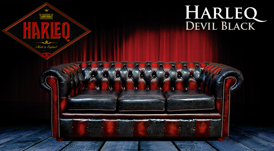 ... Red Patchwork; Chesterfield Patchwork Leather Sofa ...