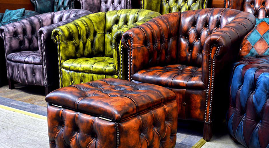 chesterfield sofa chairs new modern leathers colors
