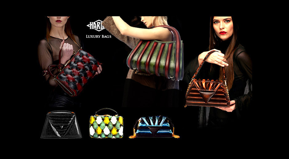 leather handbags multicolour patchwork vintage luxury harleq