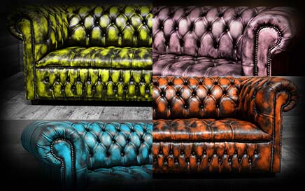 modern Chesterfield chair colors